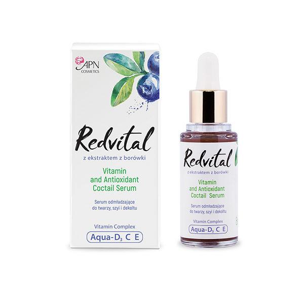 serum przeciwzmarszczkowe Redvital APN Cosmetics